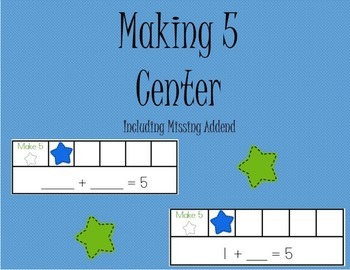 Making 5: Including Missing Addend