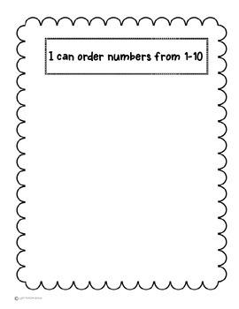 Making 5 and Patterns Math Journal