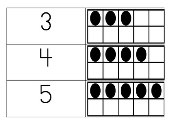 Making 5 on a Frame and Matching Game 0 to 5, Go Math, Ch 1