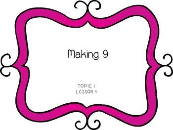 Making 9 - First Grade enVision Math
