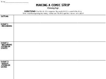 Making A Comic Strip