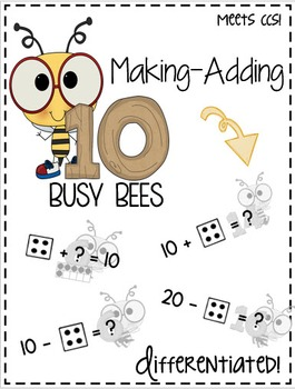 Making-Adding 10 Bees