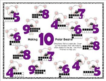 Making-Adding 10 Polar Bears