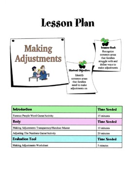 Making Adjustments In Relationships Lesson