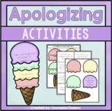 Social Skills Activities - Apologizing