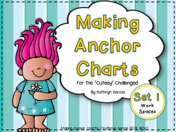 Making Anchor Charts Set 1:  Work Spaces