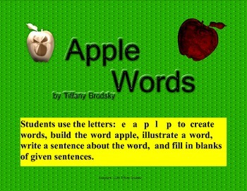 Making Apple Words