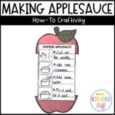 Making Applesauce Craftivity