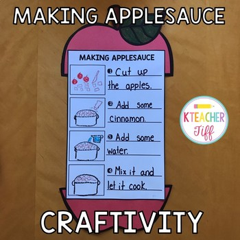 Making Applesauce Craftivity
