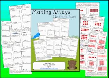 Arrays Arrays Arrays | Worksheets, Students and Math