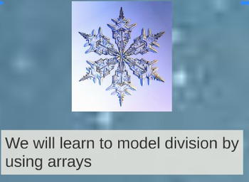 Prezi for Making Arrays to Solve Division Problems