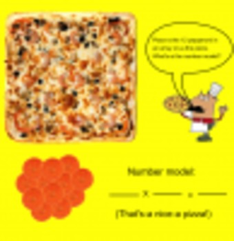 Making Arrays with Pizza!-Smartboard Activity