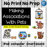 No Print Speech Therapy Categorization and Association with Pets