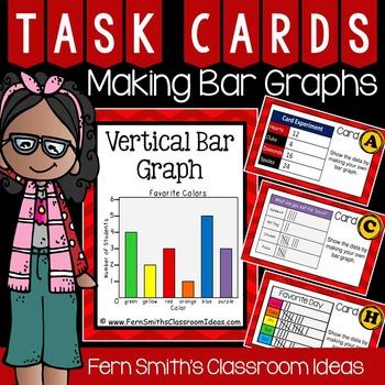 Making Bar Graphs Task Cards