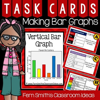 Making Bar Graphs Task Cards