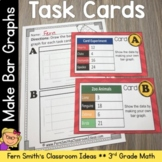 3rd Grade Go Math Chapter Two 2.5 Making Bar Graphs Task Cards