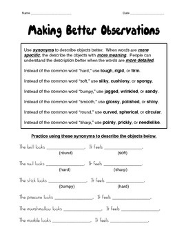 Making Better Observations