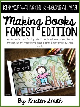 Making Books- Forest Edition