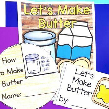 Making Butter Activities