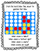 Making CONNECTions: Connect Four Task Cards