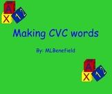 Making CVC words smartboard