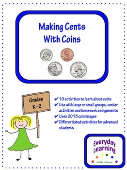 Making Cents With Coins - Money Activities