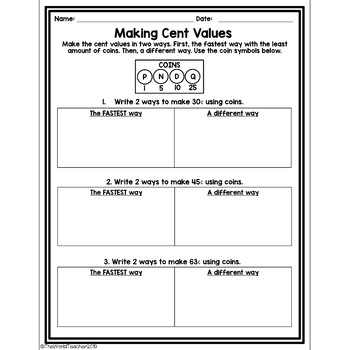 Making Cents with American Coins