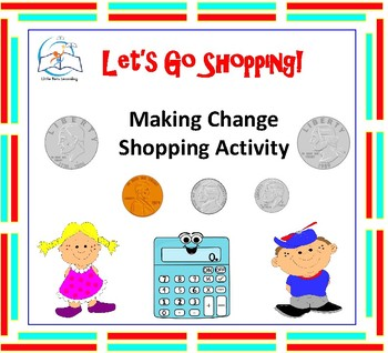 Counting Bills and Coins and Making Change Activities