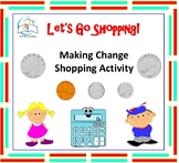 Counting Bills and Coins - Making Change Activities