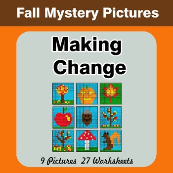 Making Change - Autumn Mystery Pictures