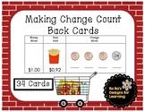Making Change Count Back Cards