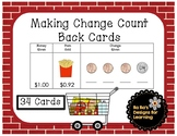 Making Change Count Back Cards