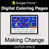 Making Change - Digital Coloring Pages | Google Forms