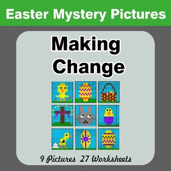 Making Change - Easter Mystery Pictures