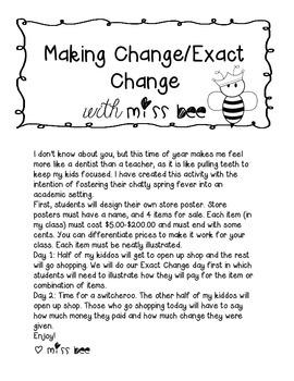 Making Change/ Exact Change