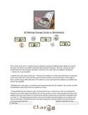 Making Change Money Cards or Worksheets