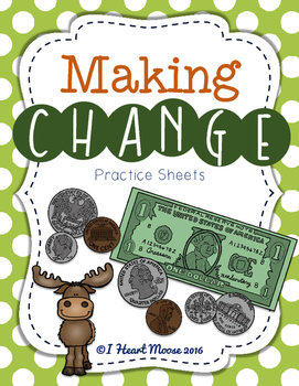 Making Change Practice Sheets