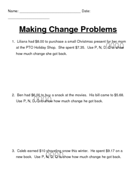 Making Change Problems