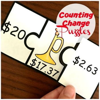 Making Change Puzzles - 2.MD.C.8