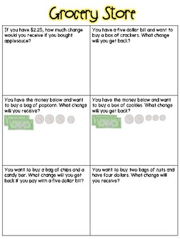 Making Change Small Group Lesson #2
