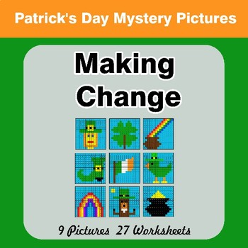 Making Change - St. Patrick's Day Mystery Pictures