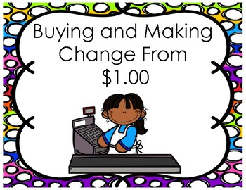 Making Change from $1.00