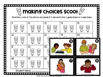 Making Choices Activity Set
