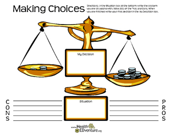 Making Choices and Decisions