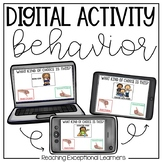 Behavior and Making Choices Digital Activity
