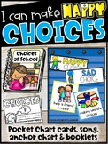Making Choices Cards & Student /Teacher Booklets | Happy and Sad Choices
