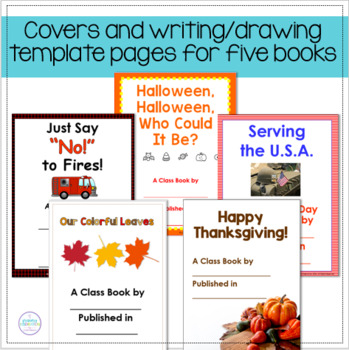 October and November ~ Making Class Books