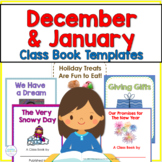 Making Class Books for December and January