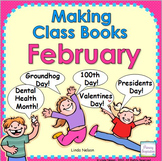 Making Class Books for February