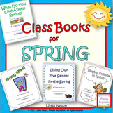 Making Class Books for Spring